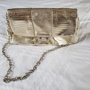 Metallic Gold Evening bag/clutch